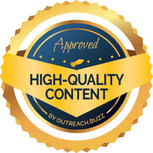 OutreachBuzz High-Quality Content Seal